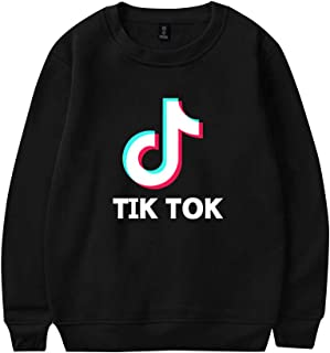 OHYOUNG TIK Tok Pullover Unisex Long Sleeve Sweatshirt Plain Top C00605WY01
