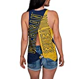 NCAA Michigan Wolverines Womens Tie Breaker Tank Top ShirtTie Breaker Tank Top Shirt, Team Color, Medium