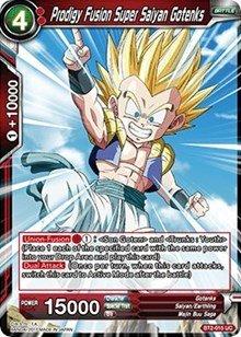 Dragon Ball Super TCG - Prodigy Fusion Super Saiyan Gotenks - Series 2 Booster: Union Force - BT2-015