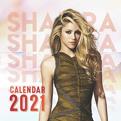 Calendar 2021: Calendar for Shakira's Fans - Mini Calendar 2021