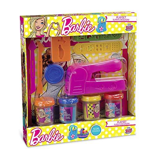 Grandi Giochi- Pasta da Modellare Barbie, Multicolore, GG76101