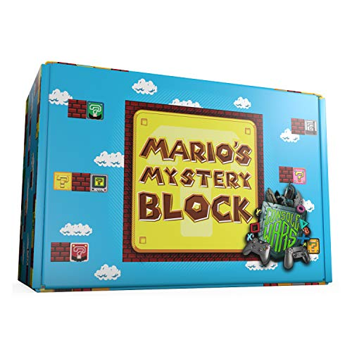 Mario's Mystery Block: Console Wars! - Gift Box Set of Mystery Toys, Novelty, Candy, and Much More from The Entire World of Nintendo Brand and Beyond!!