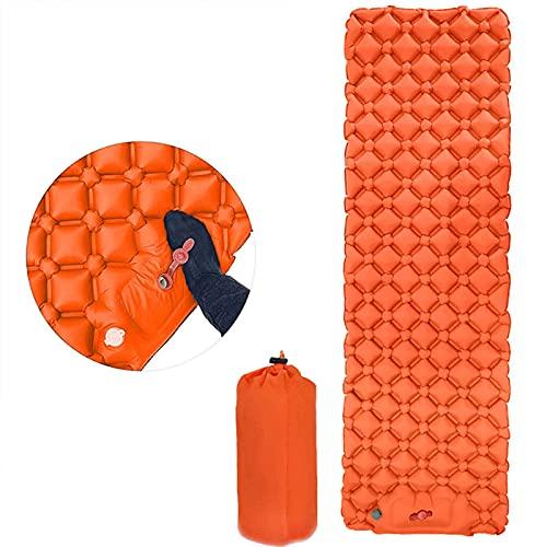 Generic Colchoneta autohinchable para camping, ultraligera, ampliable y gruesa, hinchable, colchoneta de aire para camping, tienda de campaña o playa