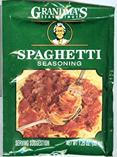 Grandma's Spaghetti Sauce Seasoning-12 Packets, 1.25 oz