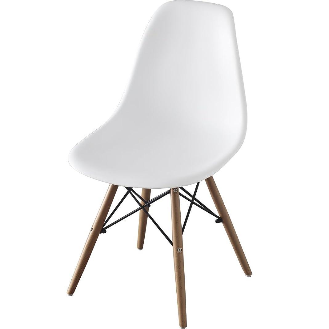 辞任するドレスに応じて椅子 イームズチェア デザイナーズ リプロダクト ホワイト PP-623