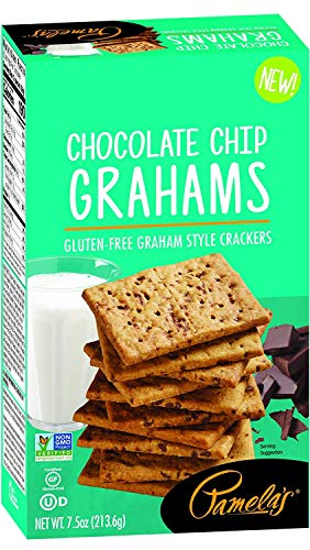 Pamela's Gluten-Free Chocolate Chip Graham Crackers, 7.5 OZ (6)