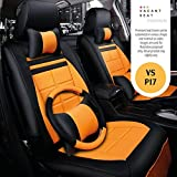 Vacant seat Premium naapa Leather Bucket seat Covers -VS- M XUV 300 W6