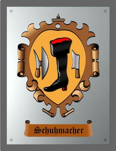 Zunftschild Schuhmacher (18 x 14 cm)