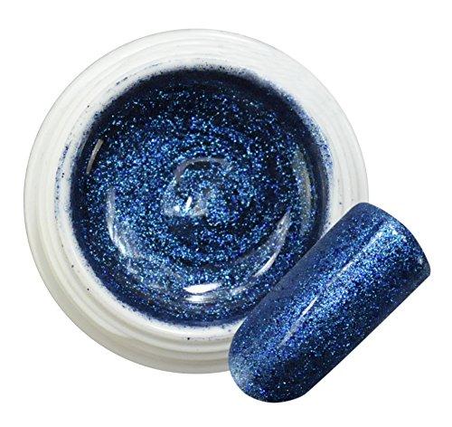 Boreal Blue 002 Gel Color Glitter 5 ml 15 ml Professional