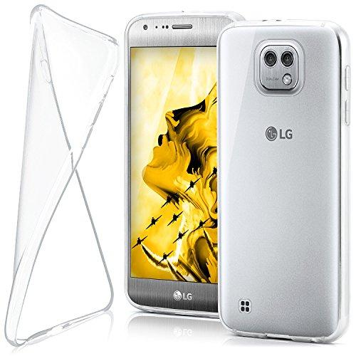 MoEx® AERO Hülle Transparente Handyhülle passend für LG X Cam   Hülle Silikon Dünn - Handy Schutzhülle, Durchsichtig Klar