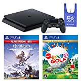 PlayStation 4 + Horizon Zero Dawn Complete Edition + New みんなのGOLF + オリジナルデザインエコバッグ セット (ジェット・ブラック) (CUH-2200AB01)
