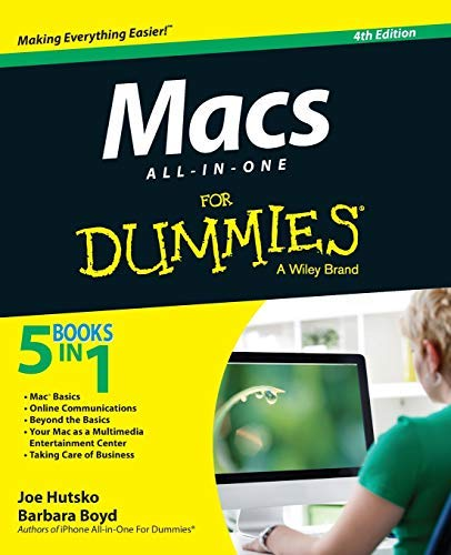 Macs All-in-One For Dummies (For Dummies (Computer/Tech)) by Joe Hutsko (2014-05-05)