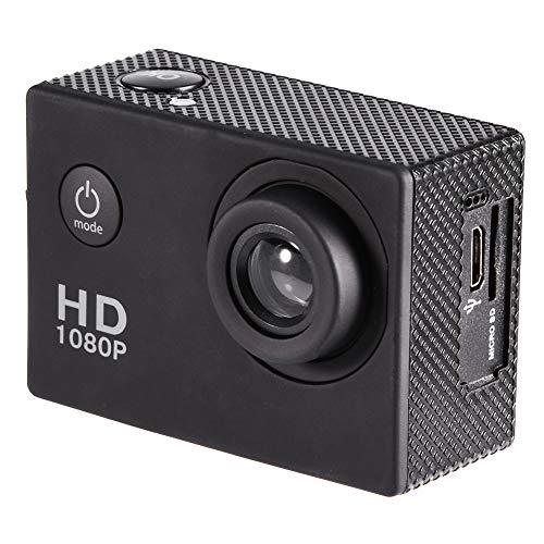 Fotocamera Sportiva, videocamera da Viaggio con videocamera di Azione di Grande capacità di archiviazione DV per registrare Ogni Singolo Momento Meraviglioso della Tua Vita.(Nero)
