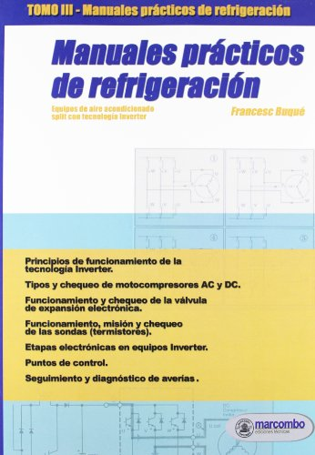 Manuales Prácticos de Refrigeración III: Equipos de aire acondicionado SPLIT con tecnología Inverter: 3