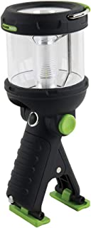Lantern Flashlight Clamp Light, 230 Lumen LED, Water Resistant, for Camping, Outdoors, more Blackfire BBM910