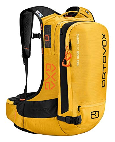 ORTOVOX Free Rider 22 Avabag Kit Mochila, Mujer, Yellowstone, 22 L