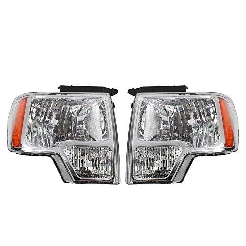 MILLION PARTS Pair of Driver & Passenger Headlights Headlamps Set Replacement...