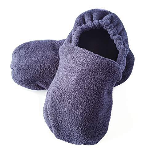 Decolores | Zapatillas Térmicas para Adulto 36-42 | Zapatillas Calentables en Microondas | Zapatos para Estar en Casa | Calzado Cómodo