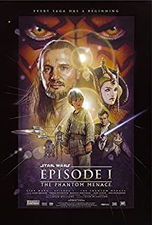 Star Wars: Episode I - The Phantom Menace - Movie Poster/Print (Regular Style) (Size: 24 inches x 36')