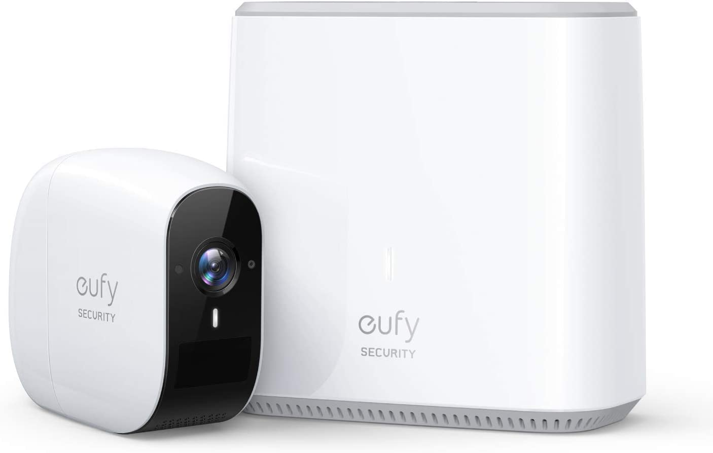 eufy Security eufyCam E Wireless Home Security Camera System, 365-Day Battery Life, HD 1080p, IP65 Weatherproof, Night Vision, Compatible with Amazon Alexa, 1-Cam Kit, No Monthly Fee (Renewed)