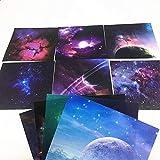 70 hojas/paquete de patrón espacial origami artesanal papel hecho a mano arte fondo decoración tarjeta DIY producción