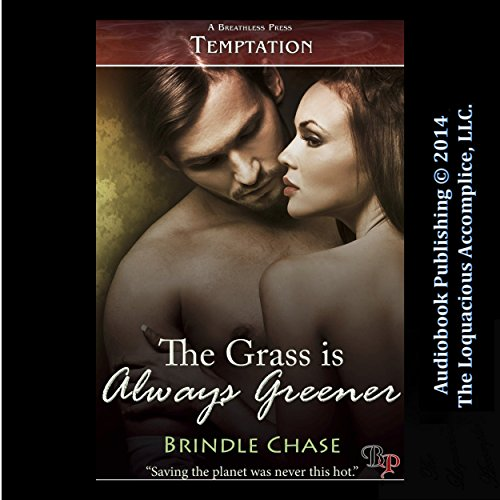 The Grass Is Always Greener audiobook cover art