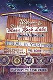 Welcome To Moon Rock Lake