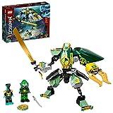 LEGO 71750 Ninjago Robot Hidro de Lloyd, Juguete de Construcción con Figuras de Acción Ninja, Set de Juego Submarino