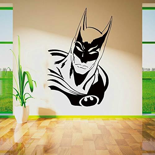 Tianpengyuanshuai Afneembare vleermuis vinyl muurstickers, muurstickers, decoratie voor woonkamer, slaapkamer, jongens
