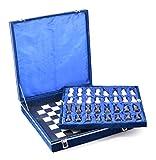 Schach Set Schwarz & Weiß Marmor