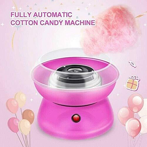 Newin Star El Caramelo de algodón de Primera Calidad Máquina Electircial Algodón de azúcar Que Hace la máquina DIY de algodón de azúcar Algodón de azúcar Maker para cumpleaños y Fiestas Rosa