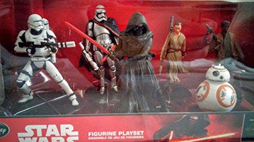 Star Wars The Force Awakens Figurine Playset 6 Piece Set