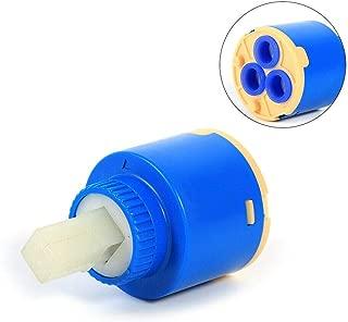 Tap Cartridge SENRISE 1PCS Ceramic Disc Cartridge Valve for Single Lever Monobloc Bathroom or Kitchen Mixer Taps (A-type 35mm)