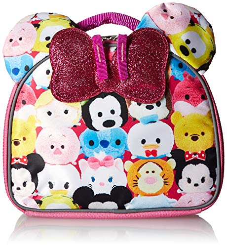 Disney Tsum Lunch Bag with Bow Tote, One Size