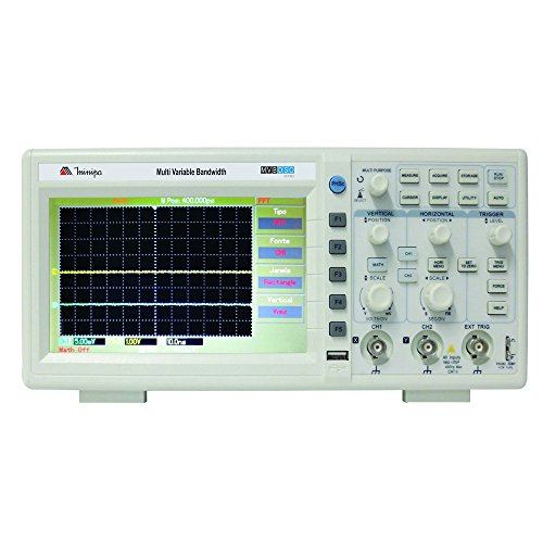 Osciloscópio Digital Mvb-dso 2 Canais 100mhz - Minipa