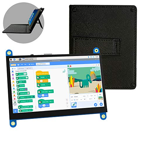 For Raspberry Pi LCD Display Module 5 inch 800x480 (Pixel) Touch Monitor Screen Kit, Compatible with Raspberry Pi for Raspberry Pi 4B 3B+ 3B 2B+ BB Black Banana Pi Windows 10 8 7
