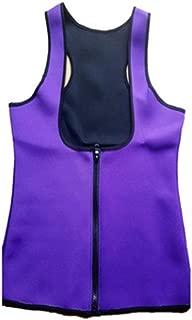 Women Waist Trainer Corset Vest Body Shaper Cincher with Zipper for Weight Loss