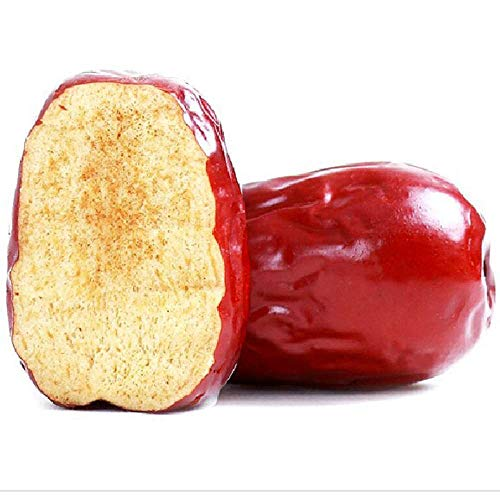 JQ Natürlich Chinesisch Getrocknete Die Dattel Big Jujube Grau Datteln Organic Healthy Food 500g Als Snack Als Backen Oder Tee Machen