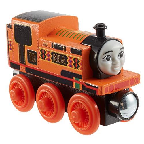 Thomas & seine Freunde GGG31 - Nia Spielzeuglok aus Holz, Spielzeug Zug ab 3 Jahren
