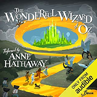 The Wonderful Wizard of Oz audiobook cover art