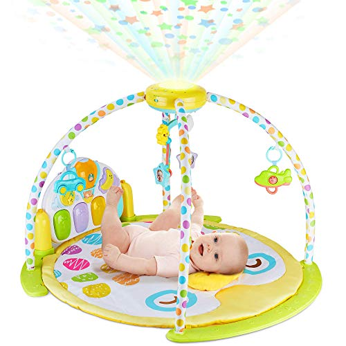 BABYSEATER Baby Gym Kick and Play Piano...
