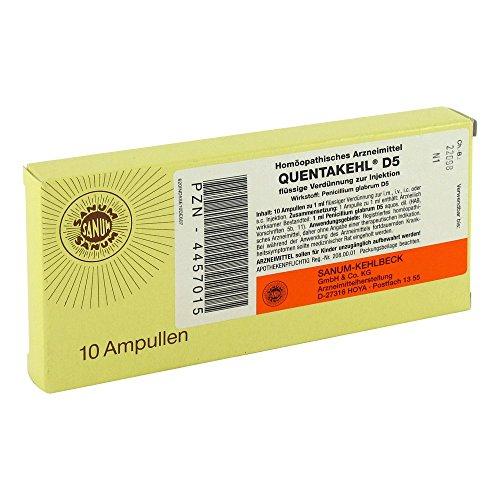 QUENTAKEHL D 5, 10X1 ml