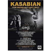 Kyasdp Kasabian Tourposter家の装飾のための絵画キャンバスに印刷-50X70Cmフレームなし