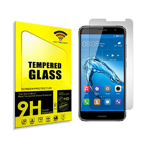 actecom® Cristal Templado Protector Pantalla 0.2MM para Huawei Nova Plus P588