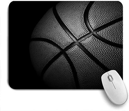 VAMIX Medium Mauspad,Basketball,Laptop Tischunterlage wasserdichte Schreibunterlage für Büro Gaming rutschfest Mauspads 240mm x 200mm