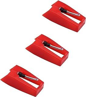 2/pezzi in ceramica punta di ricambio record puntina giradischi per Ion ICT09RS Archive LP Crosley CR8005D Victrola vsc-550bt giradischi con CLEAR SOUND Track