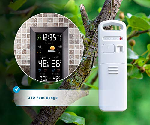 Product Image 4: AcuRite Vertical Color Weather Station with 24 Hour Future Forecast (01121M)
