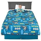 Franco Kids Bedding Super Soft Plush Throw Blanket, 62' x 90', Batman