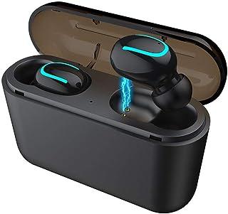 71d5bedfc7e HBQ-Q32, V5.0, Auriculares Invisibles para Auriculares Bluetooth, Mini  Auriculares