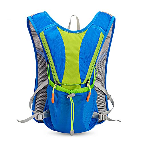 CGMZN Sac à Dos 10L Outdoor Backpack Hydration Pack Nylon Outdoor Sports Bag for Hiking Cycling Climbing Bags Pack 10L for 2L Water